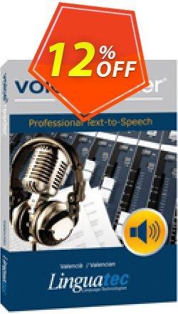 Voice Reader Studio 15 VAE / Valencià/Valencian Coupon discount Coupon code Voice Reader Studio 15 VAE / Valencià/Valencian - Voice Reader Studio 15 VAE / Valencià/Valencian offer from Linguatec