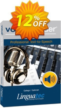 Voice Reader Studio 15 GLE / Galego/Galician Coupon discount Coupon code Voice Reader Studio 15 GLE / Galego/Galician - Voice Reader Studio 15 GLE / Galego/Galician offer from Linguatec