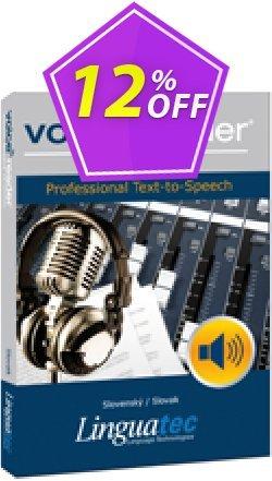 Voice Reader Studio 15 SKS / Slovenský/Slovak Coupon discount Coupon code Voice Reader Studio 15 SKS / Slovenský/Slovak - Voice Reader Studio 15 SKS / Slovenský/Slovak offer from Linguatec