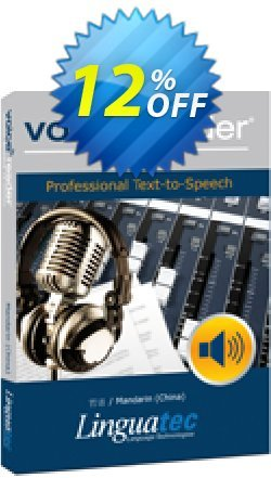 Voice Reader Studio 15 MNC / Mandarin - China  Coupon discount Coupon code Voice Reader Studio 15 MNC / Mandarin (China) - Voice Reader Studio 15 MNC / Mandarin (China) offer from Linguatec