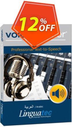 Voice Reader Studio 15 ARW / Arabic Coupon discount Coupon code Voice Reader Studio 15 ARW / Arabic - Voice Reader Studio 15 ARW / Arabic offer from Linguatec