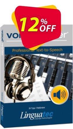 Voice Reader Studio 15 HEI / Hebrew Coupon discount Coupon code Voice Reader Studio 15 HEI / Hebrew - Voice Reader Studio 15 HEI / Hebrew offer from Linguatec