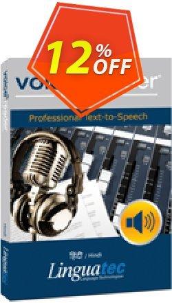Voice Reader Studio 15 HII / Hindi Coupon, discount Coupon code Voice Reader Studio 15 HII / Hindi. Promotion: Voice Reader Studio 15 HII / Hindi offer from Linguatec