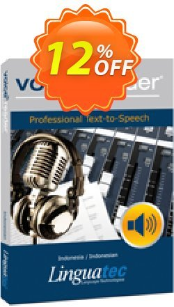 Voice Reader Studio 15 IDI / Indonesia/Indonesian Coupon discount Coupon code Voice Reader Studio 15 IDI / Indonesia/Indonesian - Voice Reader Studio 15 IDI / Indonesia/Indonesian offer from Linguatec
