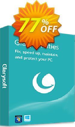 Glary Utilities PRO Coupon discount 75% OFF. Promotion: