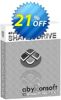 abylon SHAREDDRIVE Coupon, discount 20% OFF abylon SHAREDDRIVE, verified. Promotion: Big sales code of abylon SHAREDDRIVE, tested & approved