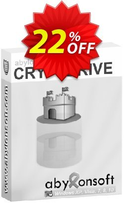 abylon CRYPTDRIVE Coupon discount 20% OFF abylon CRYPTDRIVE, verified