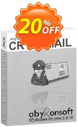 abylon CRYPTMAIL Coupon discount 20% OFF abylon CRYPTMAIL, verified
