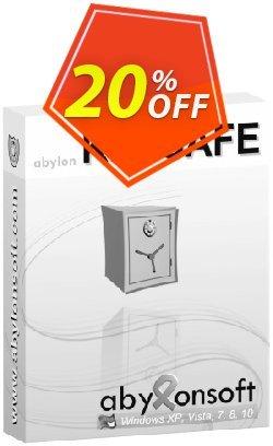 abylon KEYSAFE Coupon, discount 20% OFF abylon KEYSAFE, verified. Promotion: Big sales code of abylon KEYSAFE, tested & approved