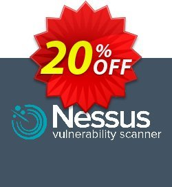 Tenable Nessus professional - 1 Year + Advanced Support  Coupon, discount 20% OFF Tenable Nessus professional (1 Year + Advanced Support), verified. Promotion: Stunning sales code of Tenable Nessus professional (1 Year + Advanced Support), tested & approved