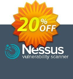 Tenable Nessus professional - 2 Years  Coupon, discount 20% OFF Tenable Nessus professional, verified. Promotion: Stunning sales code of Tenable Nessus professional, tested & approved