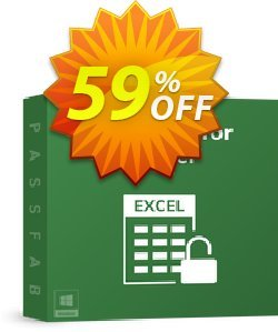 PassFab for Excel Coupon, discount 58% OFF PassFab for Excel, verified. Promotion: Staggering deals code of PassFab for Excel, tested & approved