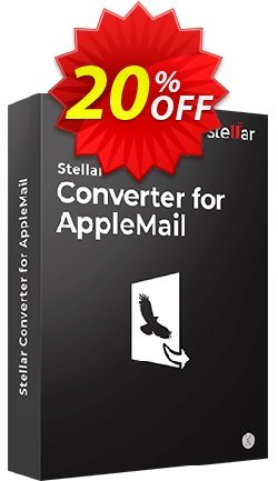 Stellar Apple Mail to Outlook 2011 Converter Coupon, discount Stellar Converter for AppleMail - Single User fearsome discounts code 2020. Promotion: NVC Exclusive Coupon