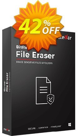 Bitraser file eraser Coupon discount Stellar Bitraser for File [1 Year Subscription] formidable offer code 2021 - NVC Exclusive Coupon