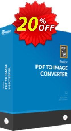 Stellar PDF to Image Converter coupon for MAC Coupon, discount NVC Exclusive Coupon. Promotion: NVC Exclusive Coupon