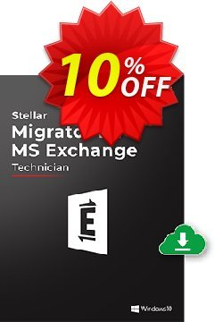 Stellar Migrator for MS Exchange Technician - 500 Mailbox  Coupon, discount Stellar Migrator for MS Exchange Technician(500 Mailbox) Wonderful discount code 2021. Promotion: Wonderful discount code of Stellar Migrator for MS Exchange Technician(500 Mailbox) 2021