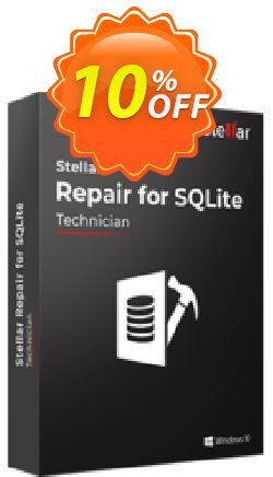 Stellar Repair for SQLite Coupon, discount Stellar Repair for SQLite  Super discount code 2021. Promotion: Super discount code of Stellar Repair for SQLite  2021