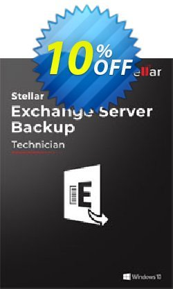 Stellar Exchange Server Backup Coupon, discount Stellar Exchange Server Backup Excellent sales code 2021. Promotion: Excellent sales code of Stellar Exchange Server Backup 2021