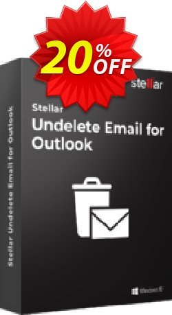 Stellar Phoenix Deleted Email Recovery Coupon, discount NVC Exclusive Coupon. Promotion: NVC Exclusive Coupon