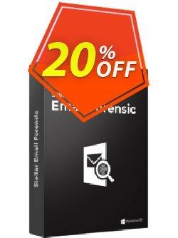 Stellar Email Forensic Coupon, discount Stellar Email Forensic Special discount code 2020. Promotion: Special discount code of Stellar Email Forensic 2020