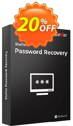Stellar Phoenix Password Recovery Coupon, discount NVC Exclusive Coupon. Promotion: NVC Exclusive Coupon