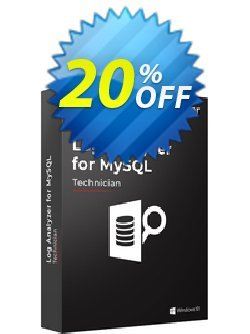 Stellar Log Analyzer for MySQL Coupon, discount Stellar Log Analyzer for MySQL Awful sales code 2021. Promotion: Awful sales code of Stellar Log Analyzer for MySQL 2021