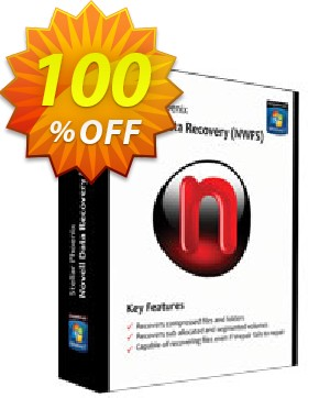 Stellar Phoenix Novell Data Recovery (NSS) Coupon, discount NVC Exclusive Coupon. Promotion: NVC Exclusive Coupon
