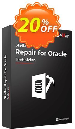 Stellar Phoenix Database Repair for Oracle Coupon, discount NVC Exclusive Coupon. Promotion: NVC Exclusive Coupon