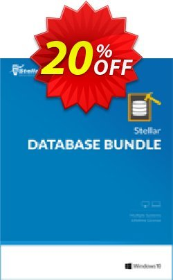 Stellar Database Bundle Coupon, discount Stellar Database Bundle dreaded deals code 2020. Promotion: fearsome sales code of Stellar Database Bundle 2020