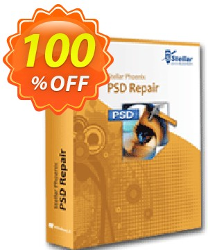 Stellar Phoenix PSD Repair Coupon, discount NVC Exclusive Coupon. Promotion: NVC Exclusive Coupon