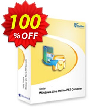 Stellar Windows Live Mail to PST Converter Coupon, discount NVC Exclusive Coupon. Promotion: NVC Exclusive Coupon