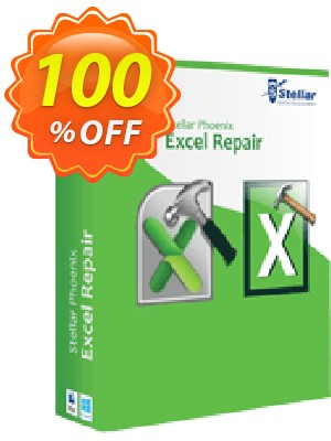 Stellar Phoenix Excel Repair (Mac) Coupon, discount NVC Exclusive Coupon. Promotion: NVC Exclusive Coupon