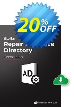 Stellar Repair for Active Directory Coupon, discount NVC Exclusive Coupon. Promotion: NVC Exclusive Coupon