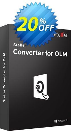 Stellar OLM to PST Converter Coupon, discount NVC Exclusive Coupon. Promotion: NVC Exclusive Coupon