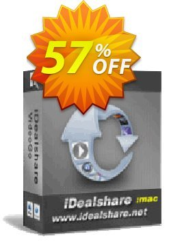iDealshare VideoGo for Mac 1 Year License Coupon, discount 50% off for 611063. Promotion: