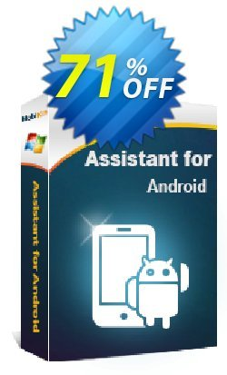 MobiKin Assistant for Android - 1 Year  Coupon, discount 50% OFF. Promotion:
