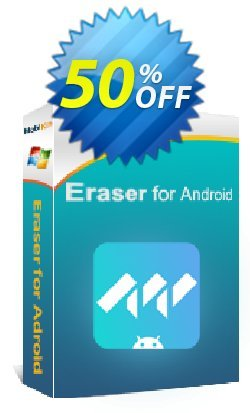 MobiKin Eraser for Android - 16-20PCs Lifetime Coupon, discount 50% OFF. Promotion: