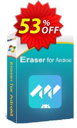 MobiKin Eraser for Android - 1 Year, 1 PC License Coupon, discount 50% OFF. Promotion: