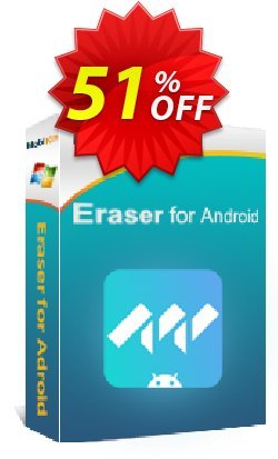 MobiKin Eraser for Android - 1 Year, 2-5 PCs License Coupon, discount 50% OFF. Promotion: