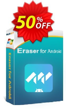 MobiKin Eraser for Android - 1 Year, 16-20PCs License Coupon discount 50% OFF. Promotion: