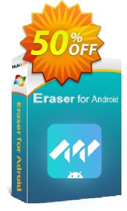 MobiKin Eraser for Android - 1 Year, 26-30PCs License Coupon, discount 50% OFF. Promotion: