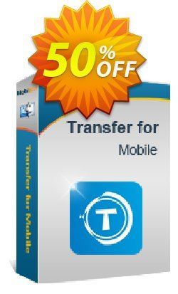 MobiKin Transfer for Mobile - Mac Version - Lifetime, 11-15PCs License Coupon, discount 50% OFF. Promotion: