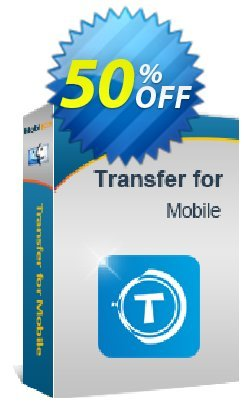 MobiKin Transfer for Mobile - Mac Version - Lifetime, 26-30PCs License Coupon, discount 50% OFF. Promotion: