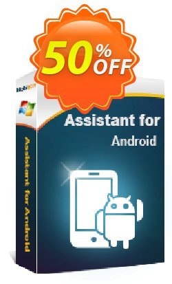 MobiKin Assistant for Android - 1 Year, 21-25PCs License Coupon, discount 50% OFF. Promotion: