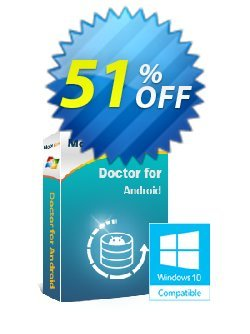 MobiKin Doctor for Android - 1 Year, 3 Devices, 1 PC License Coupon, discount 50% OFF. Promotion:
