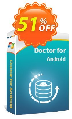 MobiKin Doctor for Android - 1 Year, 9 Devices, 3 PCs Coupon, discount 50% OFF. Promotion: