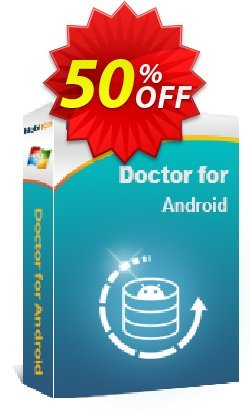 MobiKin Doctor for Android - 1 Year, Unlimited Devices, 1 PC License Coupon, discount 50% OFF. Promotion: