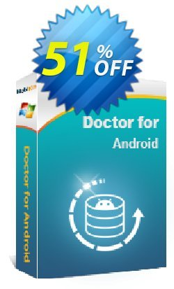 MobiKin Doctor for Android - Lifetime, 3 Devices, 1 PC License Coupon, discount 50% OFF. Promotion: