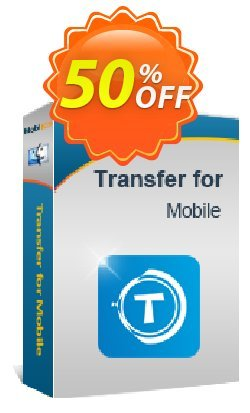 MobiKin Transfer for Mobile - Mac Version - 1 Year, 16-20PCs License Coupon, discount 50% OFF. Promotion:
