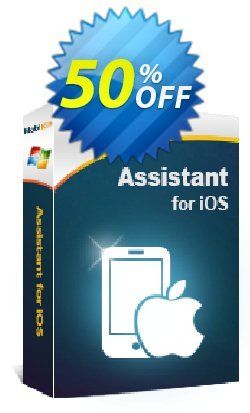 MobiKin Assistant for iOS - Lifetime, 21-25PCs License Coupon, discount 50% OFF. Promotion: